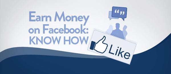 earn money on facebookpage