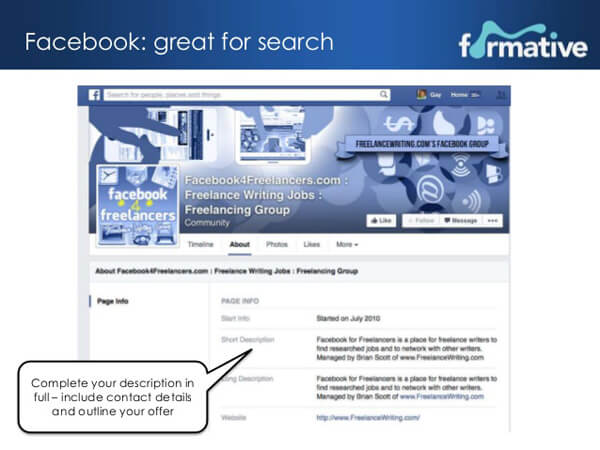 facebook freelancer groups